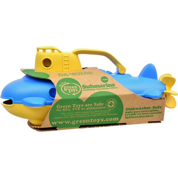 Picture of Green Toys Submarine - Yellow Cabin