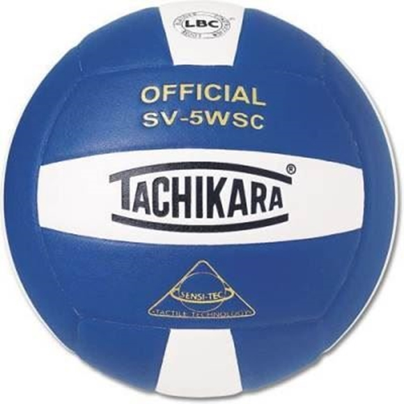 Picture of Sensi-Tec ® Composite SV-5WSC Volleyball- Royal Blue/White