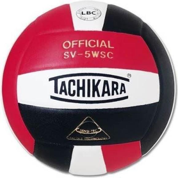 Picture of Sensi-Tec ® Composite SV-5WSC Volleyball-Black/Red/White