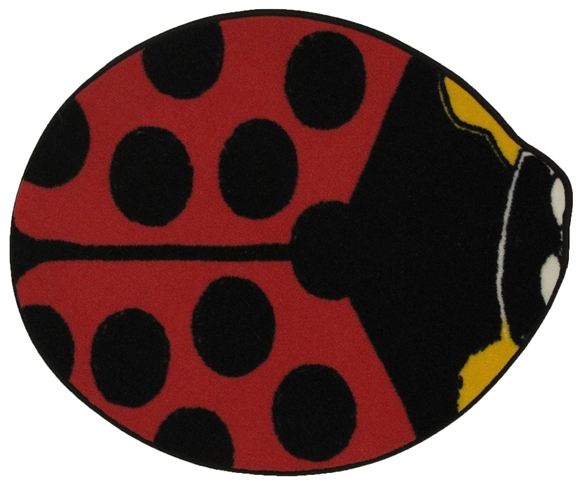 """Picture of Red Lady Bug 35""""X39"""""""