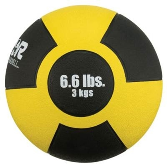 Picture of Champion Barbell Rubber Medicine Ball - 6.6lbs