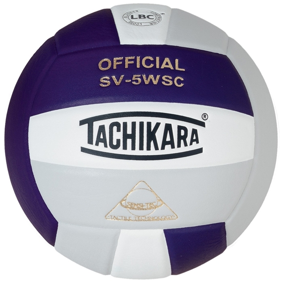 Picture of Sensi-Tec ® Composite SV-5WSC Volleyball- Navy/Silver//White