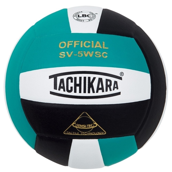 Picture of Sensi-Tec ® Composite SV-5WSC Volleyball- Teal/White/Black